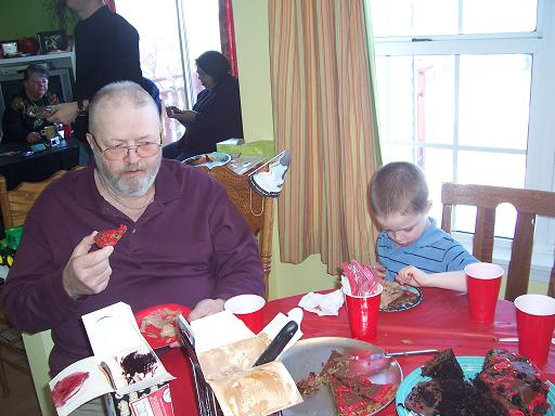Pookie_Grandpa_Eating_Cookies