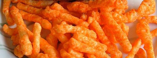 cheetos and food colors